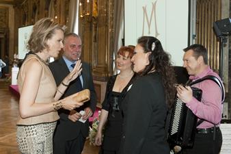 Les divas à la remise des prix de la fondation Princesse Mathilde